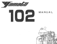 Yamato 102 Owner's Manual