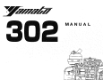 Yamato 302 Owner's Manual